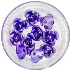 Decoration for nails - purple, 10pcs