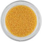 Nail art decoration - yellow micro pearls