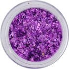 Glitter flakes small – purple, hologram