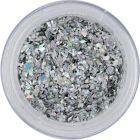 Glitter flakes small – silver