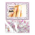 Decorative flakes with pearl effect - nail art