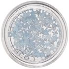 Stars for Nail Decoration - Light Blue, Pearl